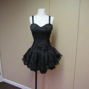 nwt Tripp hot topic black corset dress